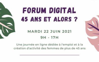 [EVENEMENT] Force Femme : Forum Digital le mardi 22 juin !