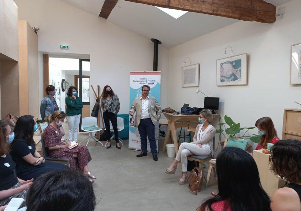 [RETOUR SUR] Le lancement du concours IOF 2021 et présentation du dispositif «Vis ma vie d'entrepreneuse»